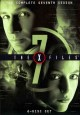 Go to record The X files. The complete seventh season