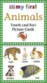 Go to record My First Animals touch and feel picture cards.
